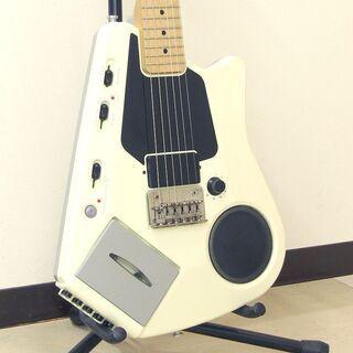 CASIO カシオ EG-5 カセットデッキ内蔵 エレキギター エレキング 希少モデル 中古品 動作確認済みの画像