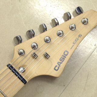 CASIO カシオ EG-5 カセットデッキ内蔵 エレキギター エレキング 希少モデル 中古品 動作確認済み − 北海道