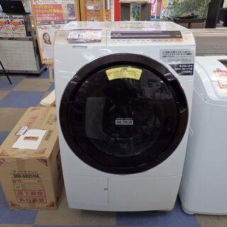 【配送設置無料エリア拡大】☆美品☆ 日立【ドラム式洗濯乾燥機】BD-SX110CL ビッグドラム 洗濯/11kg 乾燥/6kg 2019年製の画像