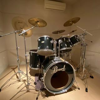 pearl ドラムセット ドラム バンド の画像