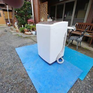 新しい 洗濯機7キロ 2018年型 使用期間数ヶ月