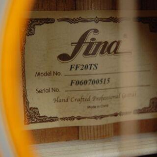 fina アコースティックギター FF20TS フィナ ☆ PayPay(ペイペイ)決済可能 ☆ 札幌市 清田区 平岡 - 札幌市