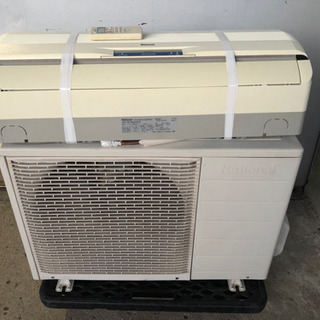 ナショナル エアコン 冷暖房 リモコン付 ガスOK