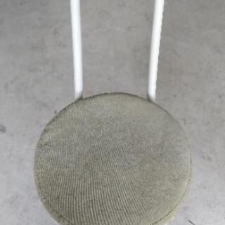 【中古品】折り畳み丸椅子