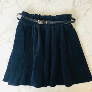 ベロア スカート