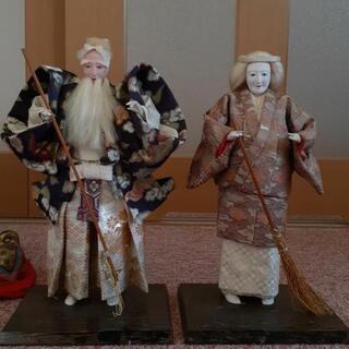 【縁起物】高砂人形