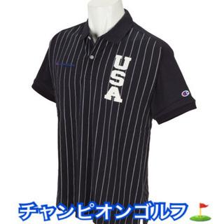 【ネット決済・配送可】チャンピョンゴルフ半袖ポロシャツ COOL...