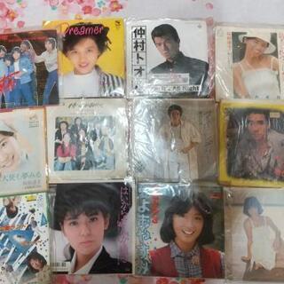 懐かしのアイドル 昭和のレコード 11枚