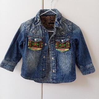 デニムシャツ ジャケット