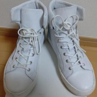 around the shoes 40 ホワイト