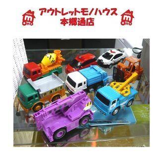 〇 札幌 1台385円 働く車 チョロQタイプ 工事車両 救急車...
