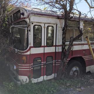 【ネット決済】バス 廃車 物置 廃バス bus 子供部屋 カフェ