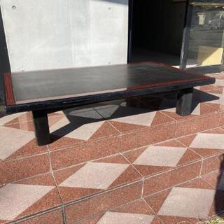 本日中 無料 香川 高松市 机 テーブル ローテーブル 黒…