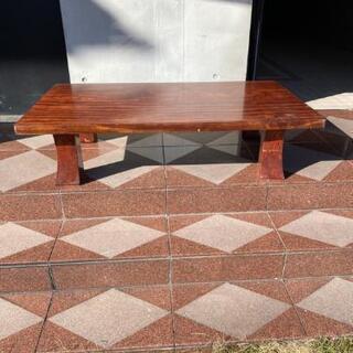 本日中 無料 引き取り限定 昭和 レトロ 木製 テーブル …