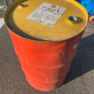 [最終価格]空ドラム缶/200L/燃料タンク/鉄製/エンジ…
