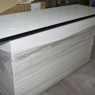 未使用 スチール家具 受付カウンター W180xL60xH91