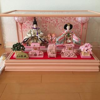 雛人形 (工房 天祥)ピンクの画像