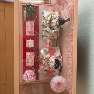 雛人形 (工房 天祥)ピンク - 名古屋市