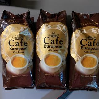 【値下げ】早い者勝ちキーコーヒーのレギュラーコーヒー【豆】250g×3