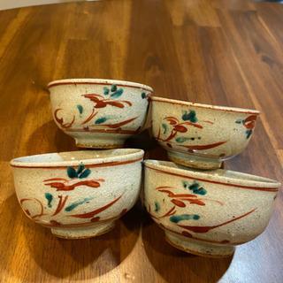 ★赤絵の茶器4セット★の画像