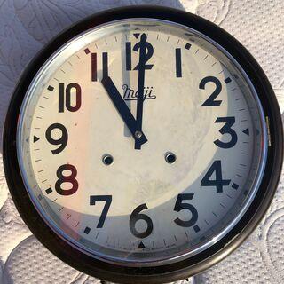 壁掛け時計 昭和レトロ Meiji 中古