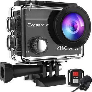 【新品】アクションカメラ 4K高画質 2000万画素 webカメ...