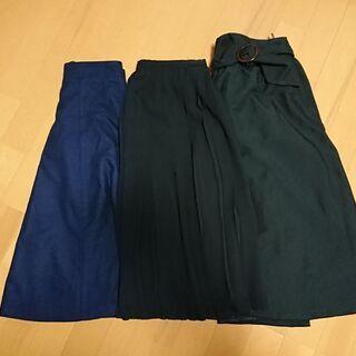 【11/18迄】スカート 3着セット【М】
