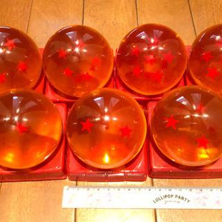 ドラゴンボール(直径7.5cm)7個セット