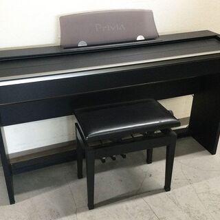CASIO カシオ 電子ピアノ Privia PX730 ブラック 椅子付きの画像