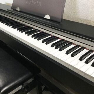 CASIO カシオ 電子ピアノ Privia PX730 ブラック 椅子付き - 福岡市