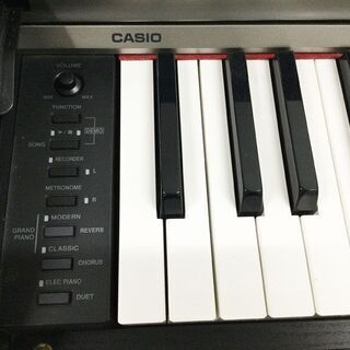 CASIO カシオ 電子ピアノ Privia PX730 ブラック 椅子付き - 楽器