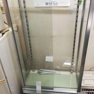 ガラスショーケース 棚板3枚 幅約60 奥行き30 高さ1…