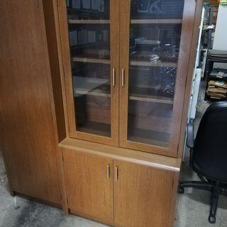 オフィス家具 KOKUYO コクヨ 両開き書棚 幅約90 …