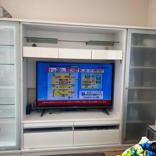テレビ台 ハイタイプ【大塚家具】横幅約250 高さ180 - 枚方市