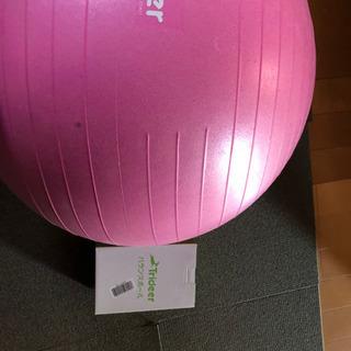 バランスボール 55センチ 160cm 女性 サイズ