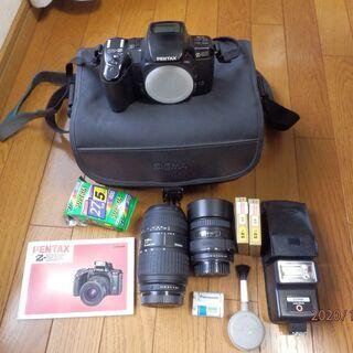 ペンタックスのフィルム一眼レフカメラ+その他