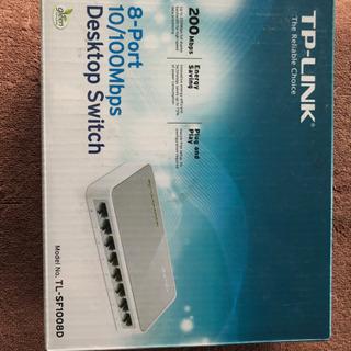 TP-LINK 10/100Mbps TL-SF1008D 8ポ...