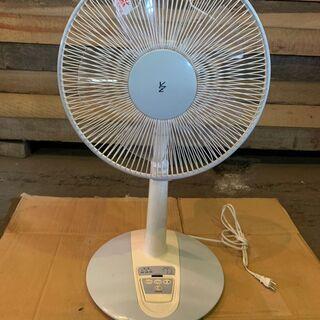 YMAZEN 30cmリビング扇風機 LR-K300 節電扇風機 夏物の為格安 早いもの勝ち リモコン付属の画像