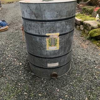 穀物貯蔵缶 米貯蔵缶 米缶 直径870✖️高さ1200