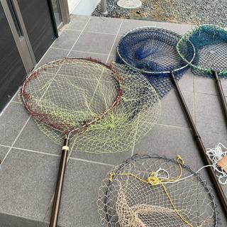 タモ 網  釣り  海釣り
