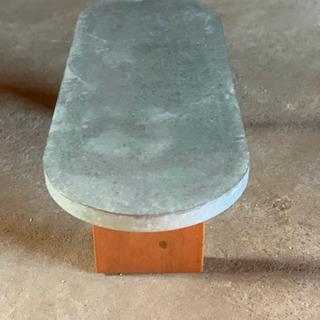 ブリキ調のテーブルです‼️お洒落でしっかりしてます‼️
