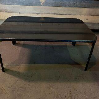 クレヨンスクエアテーブル MSC-Q750 鏡面 BLACK 座卓テーブル 格安 配送OK 早いもの勝ちの画像