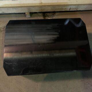 クレヨンスクエアテーブル MSC-Q750 鏡面 BLACK 座卓テーブル 格安 配送OK 早いもの勝ち - 家具