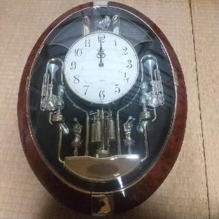 《ジャンク品》からくり時計