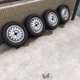 155 75 R13 タイヤホイールセット