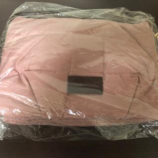 【新品・タグ付き】ピンクベージュ バッグ