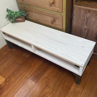 ホワイト シンプル モノトーン テーブル 新品