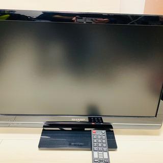 SHARP AQUOS TV 24型