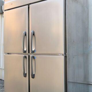 ホシザキ《4枚扉冷凍冷蔵庫》HRF-120ZF 17年製 2凍2蔵