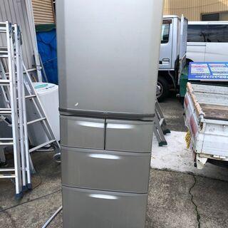 即決 冷蔵庫 400L ファミリー用 自動製氷機能 中古 …